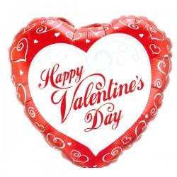 Happy Valentine's Day Hart Ballon